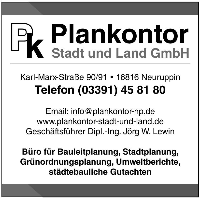 Plankontor Stadt und Land GmbH