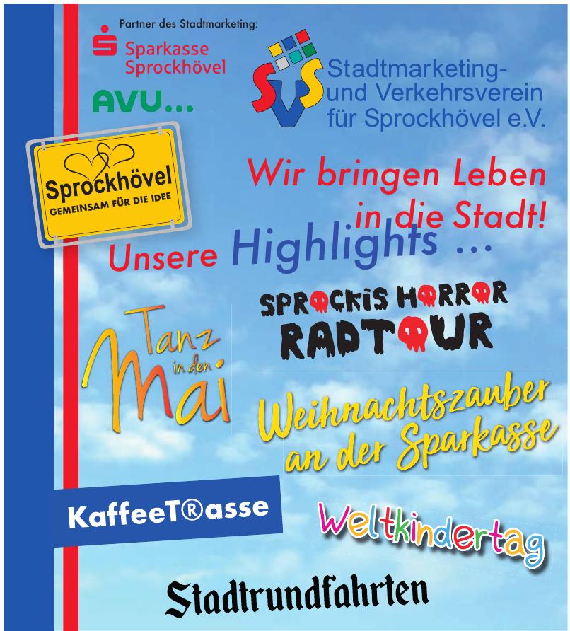 Stadtmarketing & Verkehrsverein für Sprockhövel e.V.