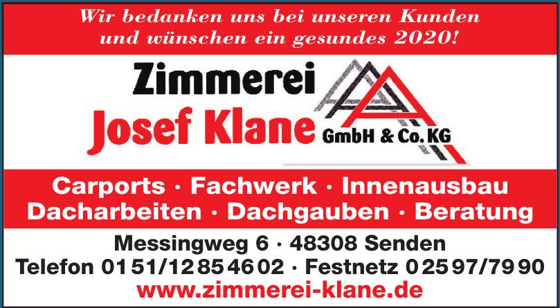 Zimmerei Josef Klane GmbH & Co. KG