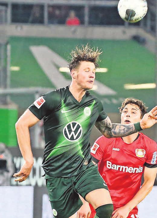 105 Kopfballduelle gewonnen: Wout Weghorst.