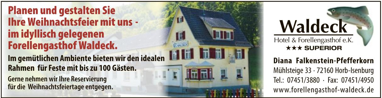 Waldeck Hotel und Forellengasthof