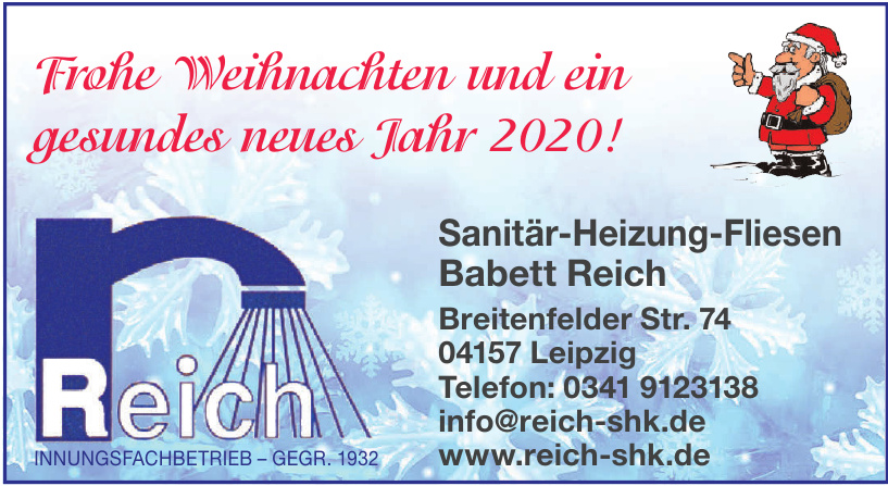 Sanitär-Heizung-Fliesen Babett Reich