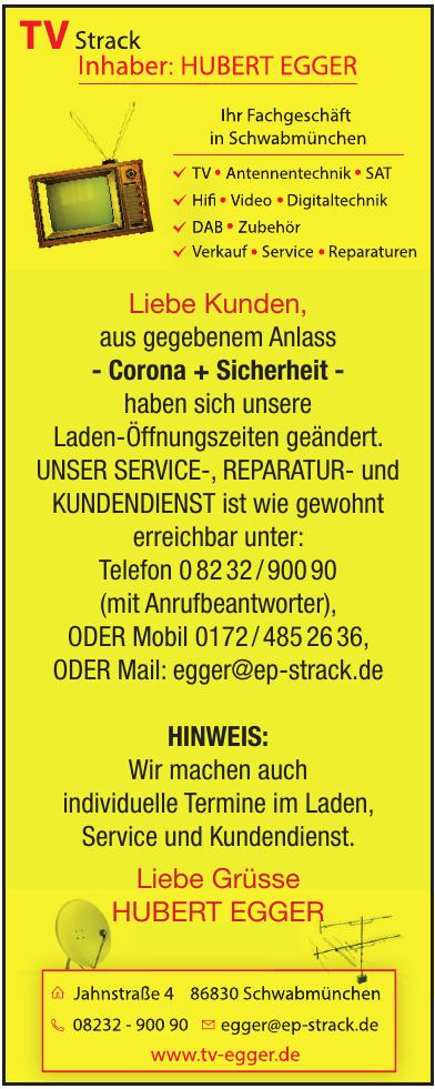 TV-Strack Inh. Hubert Egger e.K