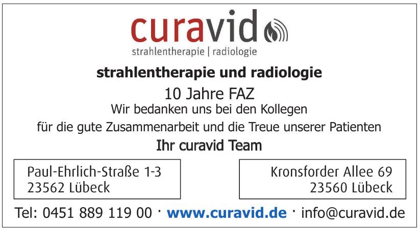 Curavid Stranhlentherapie und Radiologie