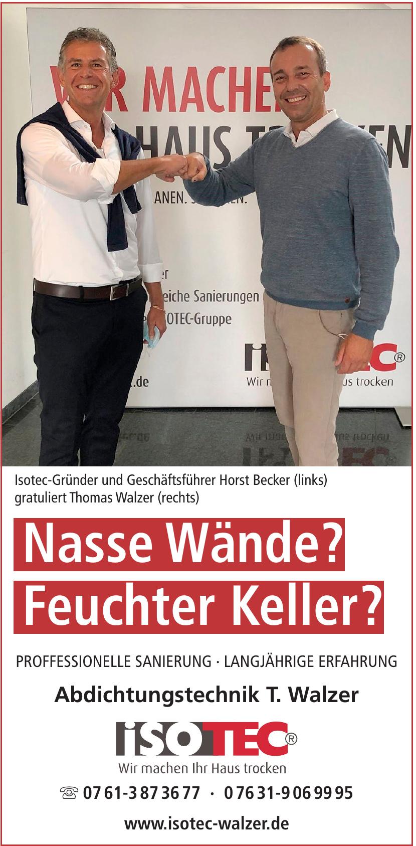 Isotec Walzer