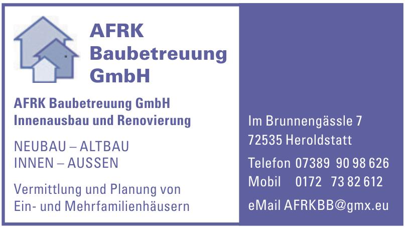 AFRK Baubetreuung GmbH