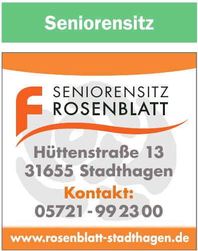 Rosenblatt Seniorenpflege GmbH