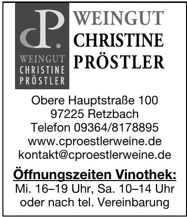 P. Weingut Christine Pröstler