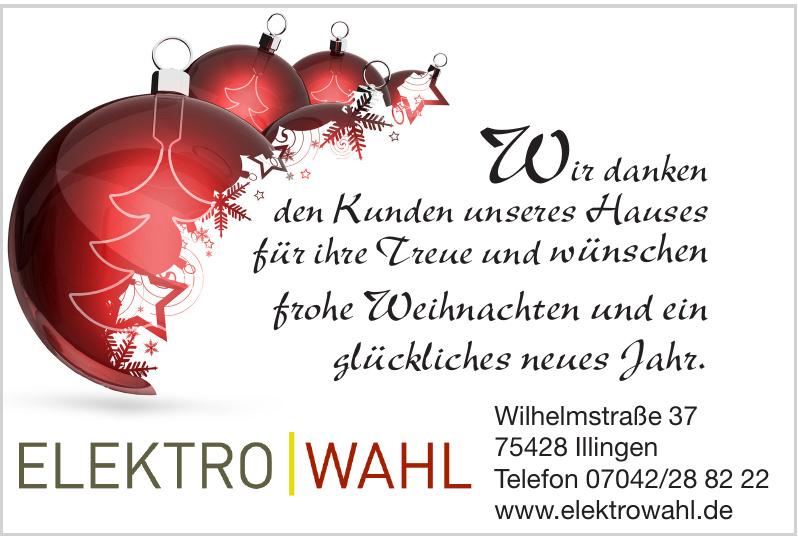 Elektro Wahl