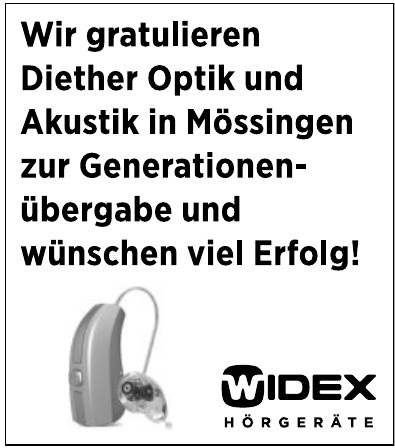 Widex Hörgeräte