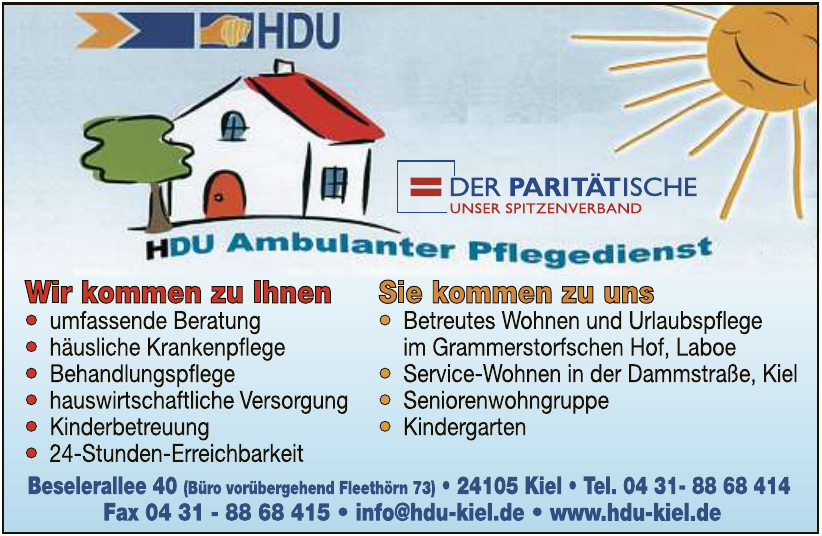 HDU Ambulanter Pflegedienst e.V.