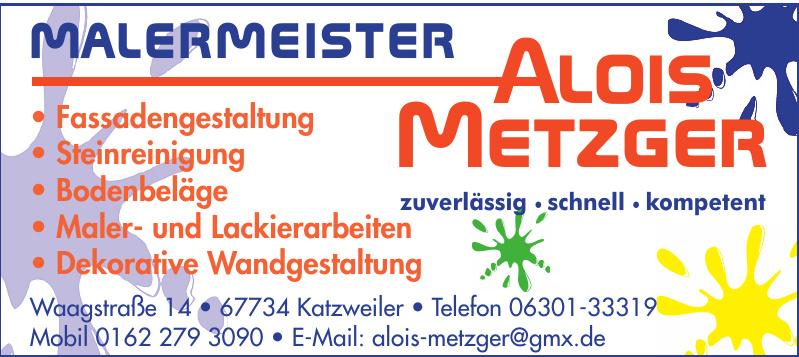 Malermeister Alois Metzger