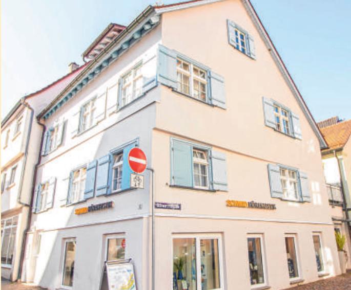 Das Geschäft in der Biberacher Schrannenstraße 12.