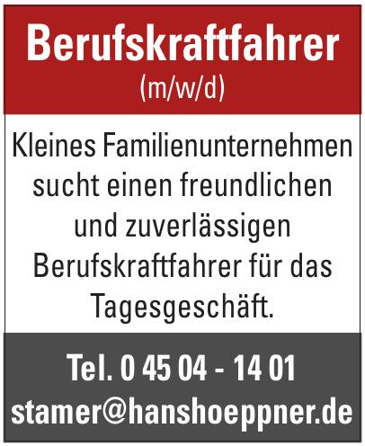 Hans Höppner Kohlenhandlung und Fuhrbetrieb Jörn Jahnke