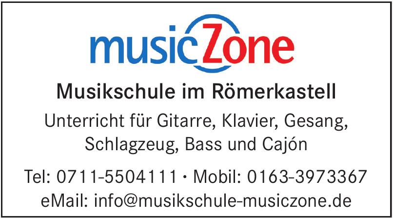 musicZone Musikschule im Römerkastell