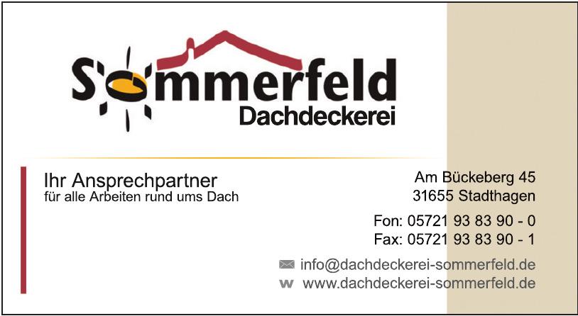 Sommerfeld Dachdeckerei