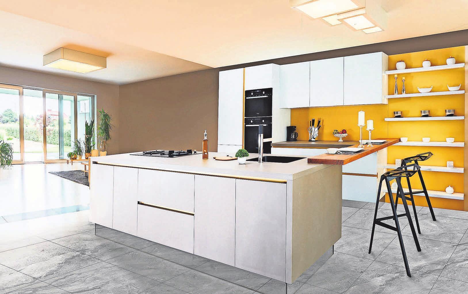 Eine ergonomische Küche überzeugt durch viele variable Module.