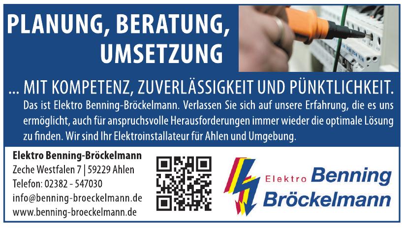 Elektro Benning-Bröckelmann