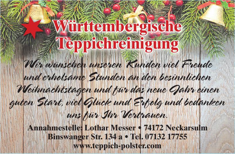 Württembergische Teppichreinigung