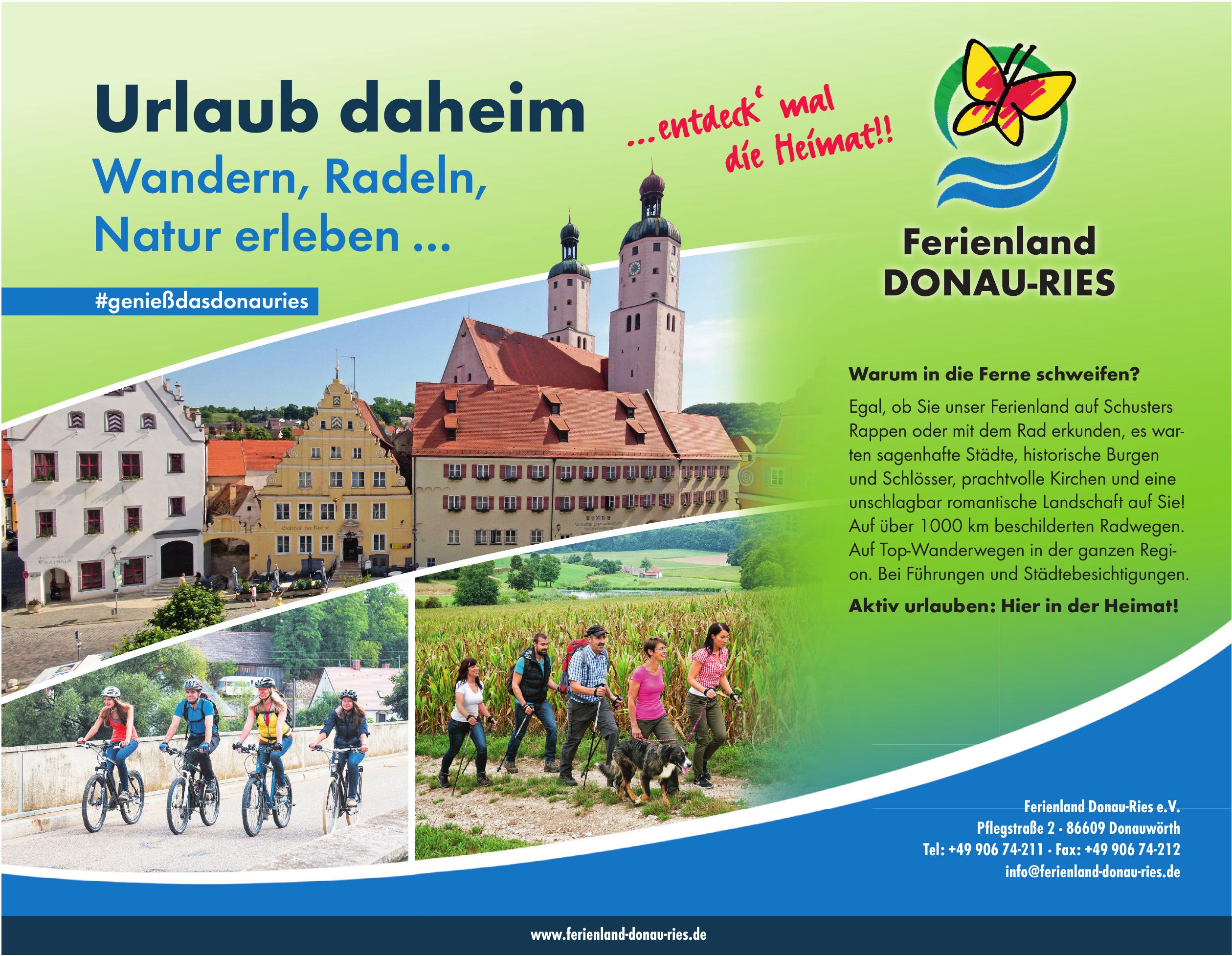 Ferienland Donau-Ries e.V.