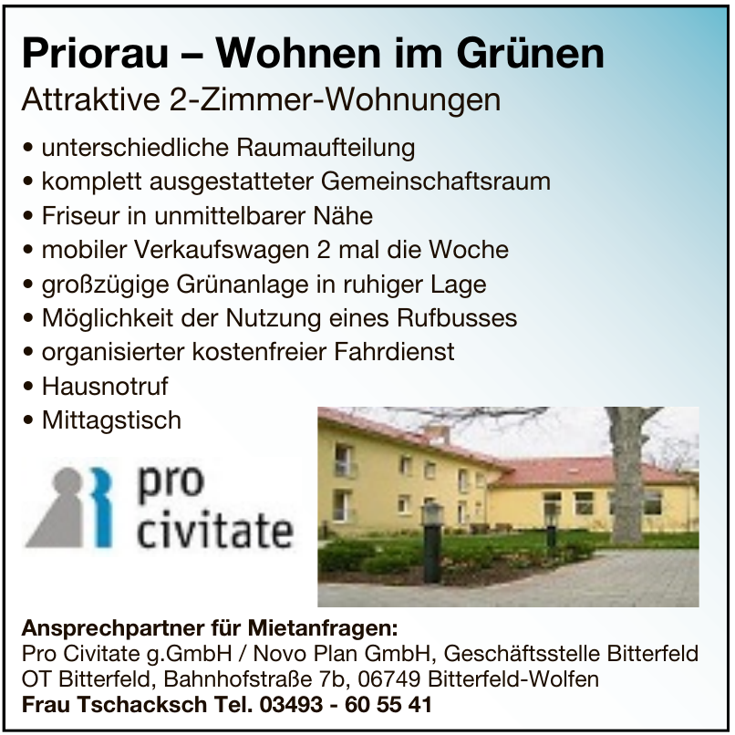 Pro Civitate g.GmbH / Novo Plan GmbH