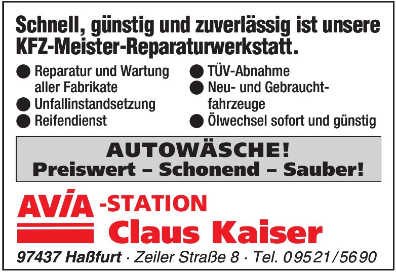 AVIA -Station Claus Kaiser