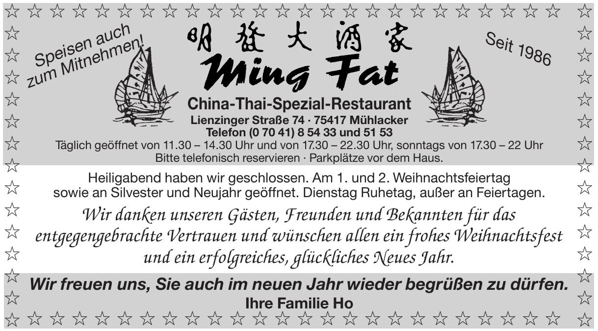 Ming Fat