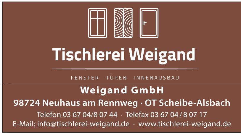 Tischlerei Weigand GmbH