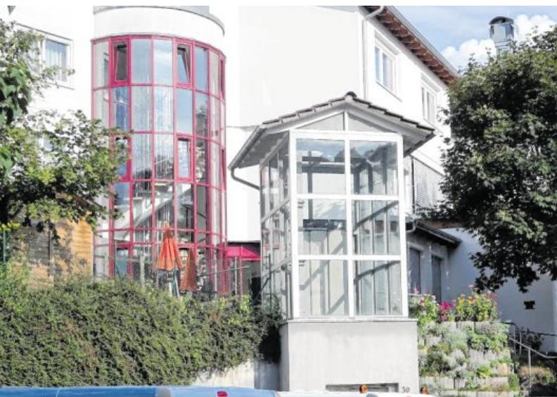 Das Haus liegt idyllisch im Erlenbachtal. BILD: HAUS AM SONNENBERG