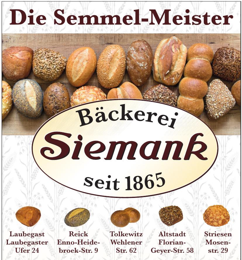 Bäckerei Siemank
