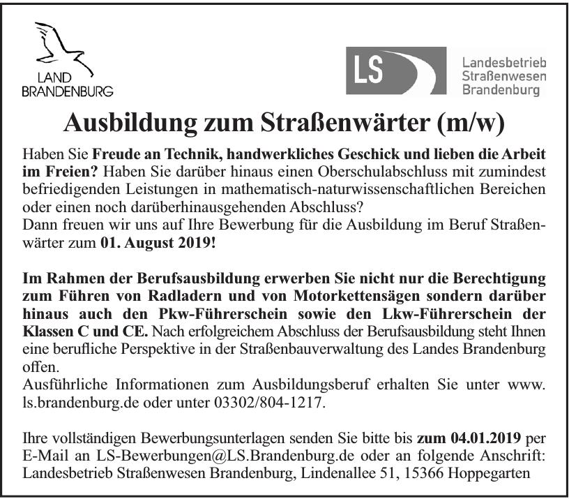 Landesbetrieb Straßenwesen Brandenburg