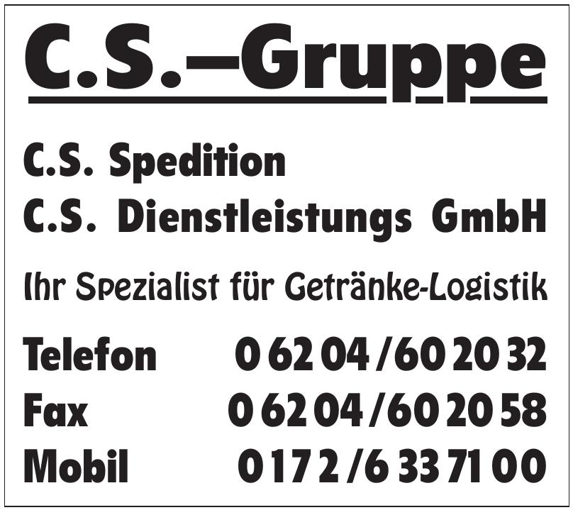 C.S.-Gruppe - C.S. Spedition, C.S. Dienstleistung GmbH