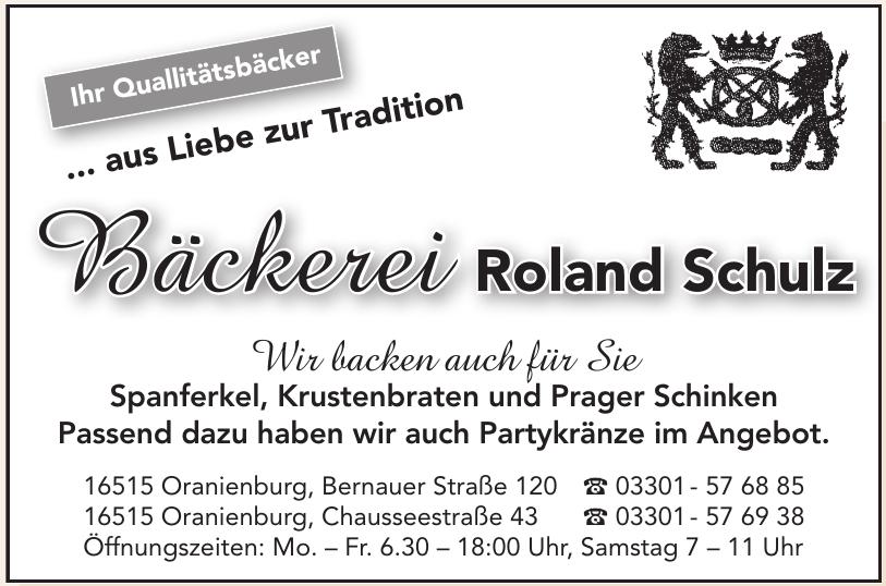 Bäckerei Roland Schulz