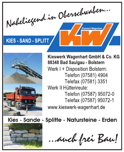 Kieswerk Wagenhart GmbH & Co. KG