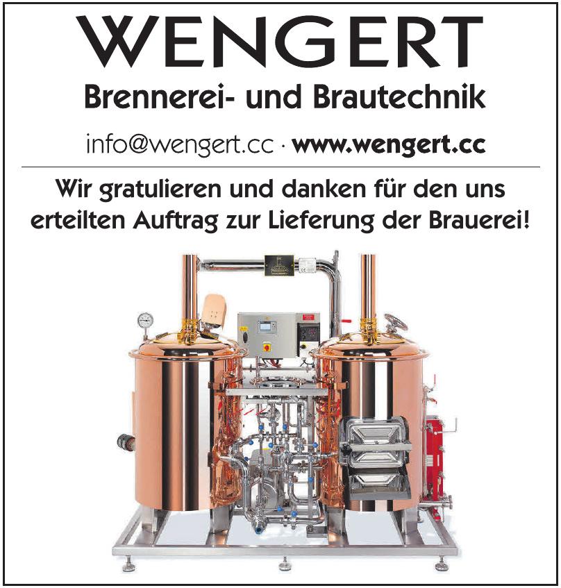 Wengert Brennerei- und Brautechnik