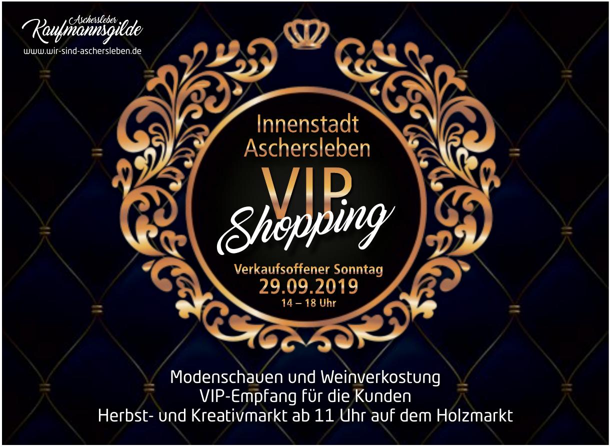 VIP-Shopping  - Innenstadt Aschersleben