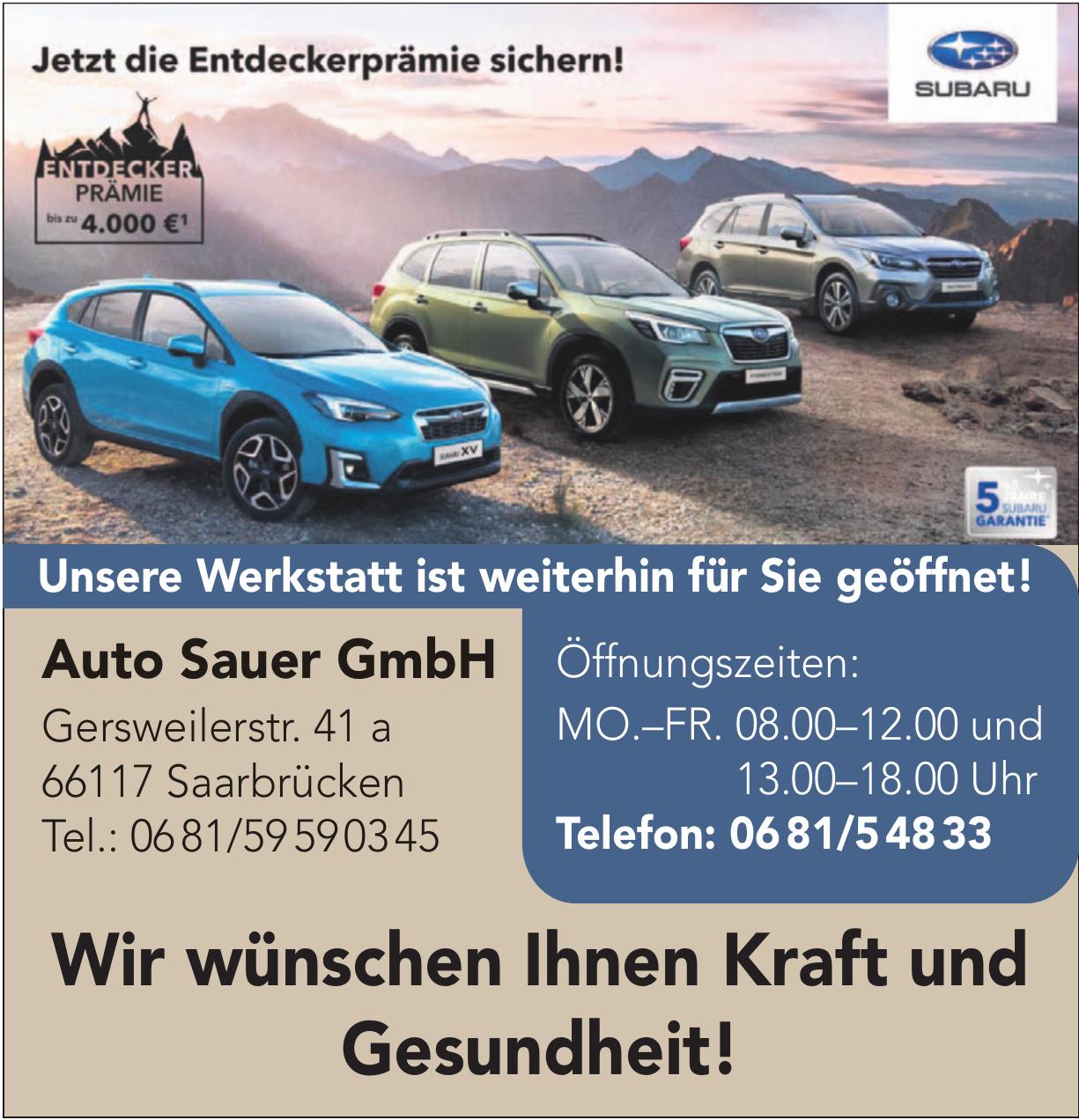 Auto Sauer GmbH