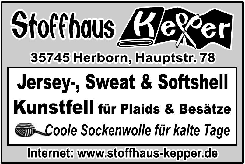 Stoffhaus Kepper