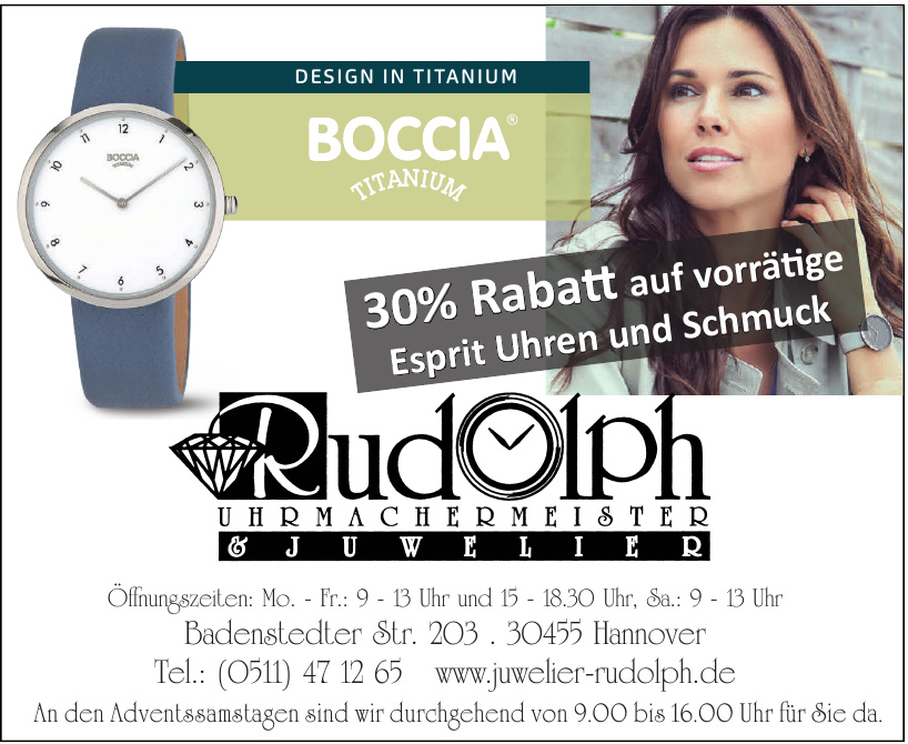 Juwelier Rudolph in Hannover