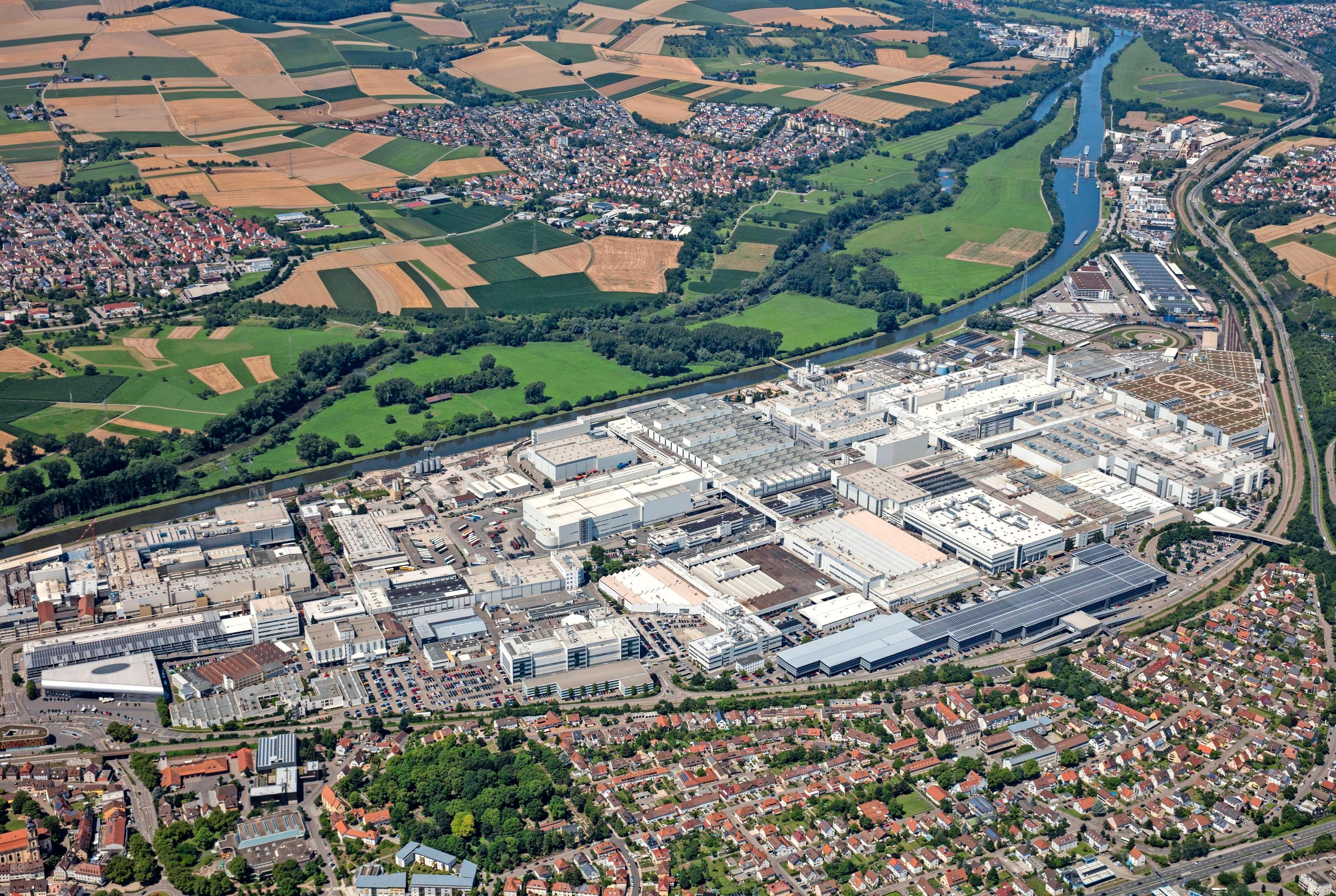 Mit 16 982 Mitarbeitern ist Audi in Neckarsulm nach wie vor der größte Arbeitgeber in der Region. Auf den Autobauer warten in den kommenden Jahren zahlreiche Herausforderungen. Foto: Audi