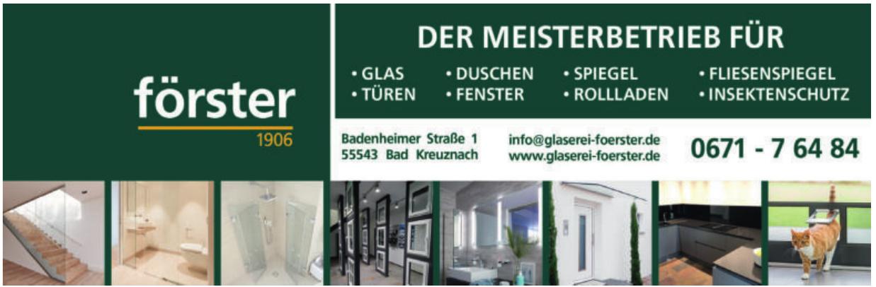 Gläserei Förster GmbH