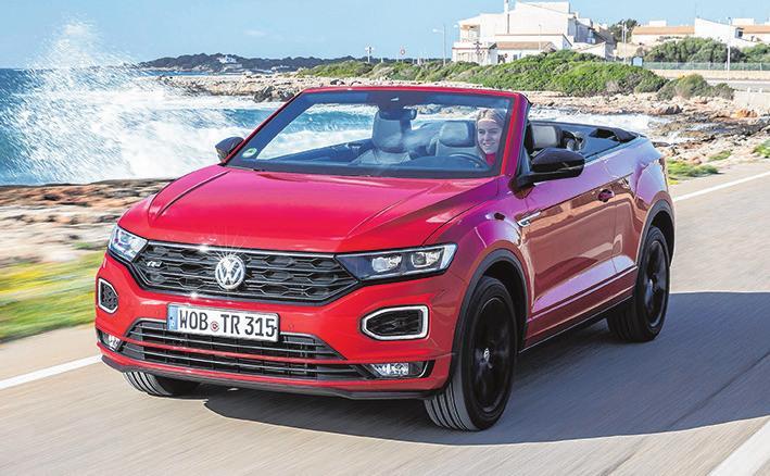 23 VW T-Roc Cabrio