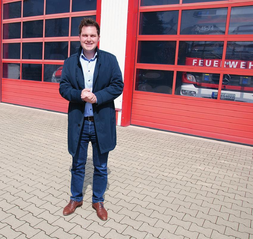 Seit seinem zehnten Lebensjahr ist Philipp Raulfs aktives Mitglied der Freiwilligen Feuerwehr Hillerse.