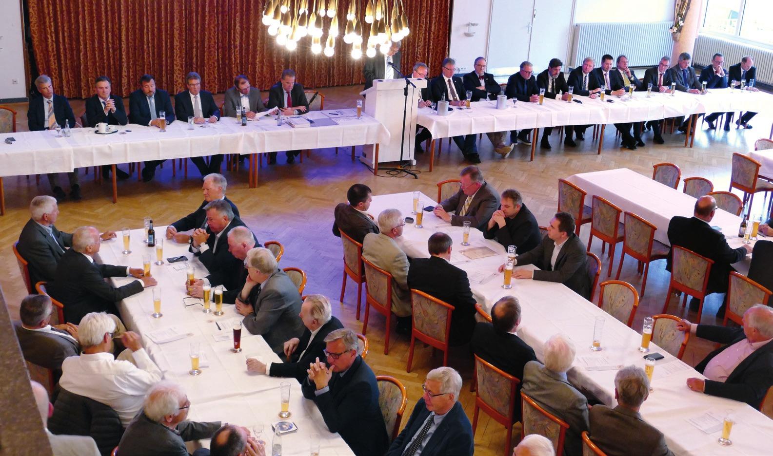 Rund 80 Mitglieder kamen zur Versammlung in den Gildesaal.