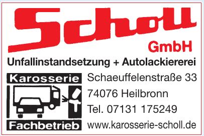 Scholl Unfallinstandsetzung + Autolackiererei