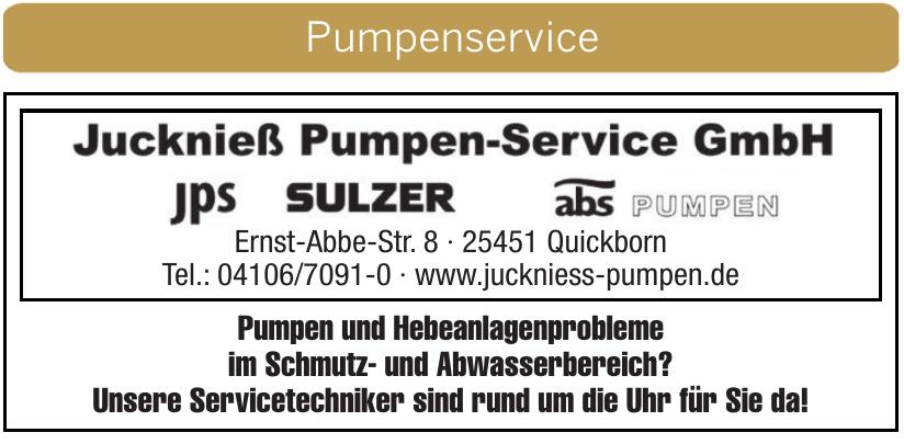 Jucknieß Pumpen-Service GmbH