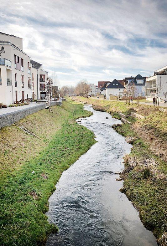 Idyllisch Wohnen und in idealem Umfeld arbeiten kann man in der Tübinger Weststadt gleichermaßen gut. Bilder: Uhland2