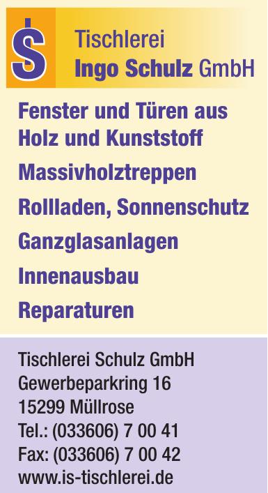Tischlerei Ingo Schulz GmbH