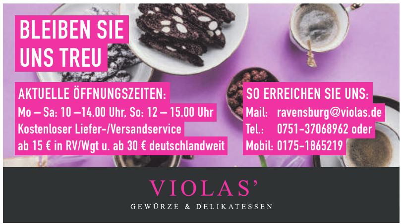 Violas' Ravensburg pink & spicy GmbH