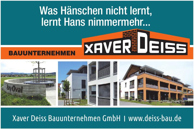 Xaver Deiss Bauunternehmen GmbH